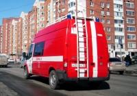 Пожарный штабной автомобиль на базе Ford Transit Mk7 #Н 317 КУ 72 . Тюмень, улица 50 лет Октября