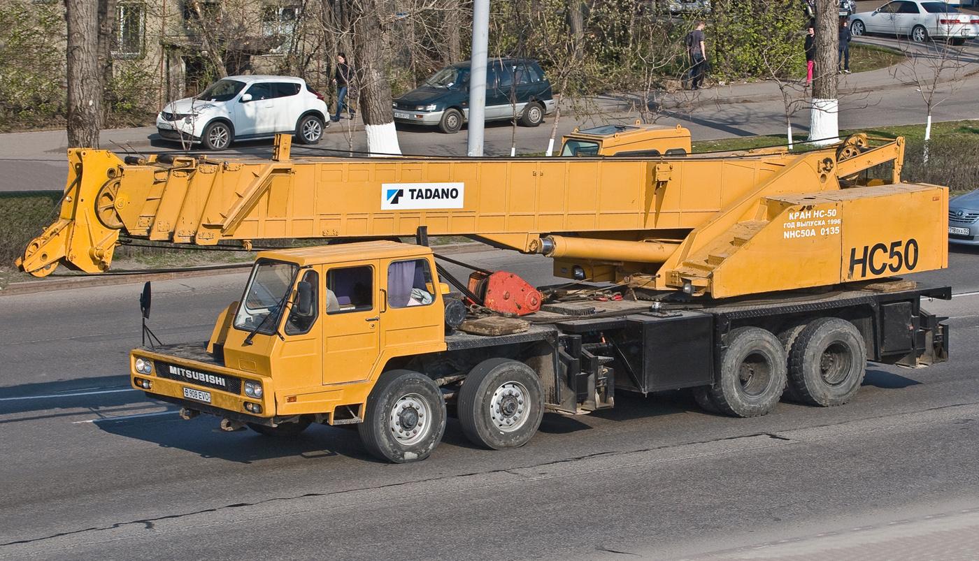 Автокран Hyundai HC50 #B 908 EVO. Алматы, улица Саина