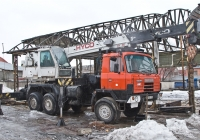 Автокран Hyco HY95 на шасси Tatra T815 #Z 960 CF. Алматы, улица Саина