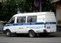Автомобиль дежурной части ГАЗ-32215-АДЧ #А 4401 66. Екатеринбург