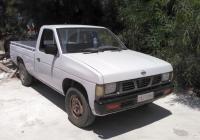 Пикап Nissan Pickup D21. Греция, остров Родос