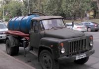 Вакуумная машина на шасси ГАЗ-53-12 #У751ТМ63. Самара, улица Осипенко