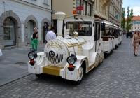 Экскурсионный автопоезд Dotto Trains. Словения, Любляна
