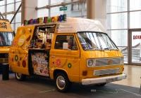 Мобильный бар на базе Volkswagen Transporter T3 #Н 311 ХС 61 . Москва, ВДНХ, павильон №75