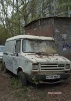 Цельнометаллический фургон DAF 400 #Р326 ТМ 63. Самара, улица Фадеева