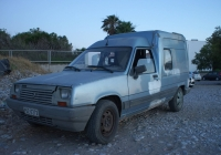 Фургон Renault Express первого поколения #POZ-7272. Греция, остров Родос, муниципалитет Родос, Ялисос