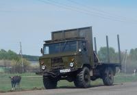 Автомобиль ГАЗ-66 # А 537 НО 36. Белгородская область, Старооскольский район, с. Городище