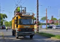 Автоподъёмник для ремонта контактной сети на базе Mercedes-Benz Atego, #HIR-391. Венгрия, Будапешт