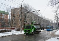 Эвакуатор на шасси MAN TGL 12.180 #Н 318 ТР 77. Москва, 3-я Парковая улица