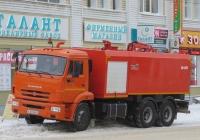 Каналопромывочная машина КО-560 на шасси КамАЗ-65115 #К 361 МВ 45 . Курган, улица Куйбышева