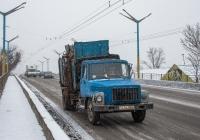 Мусоровоз КО-413 на базе ГАЗ-3307 №3454 РКА. Черкассы, проспект Химиков