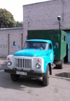 Бытовка на шасси ГАЗ-53-12 #В 168 АР 163. Самара, Больничная улица, гараж Горзеленхоза