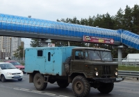 Автомобиль ГАЗ-66-14 с кузовом К66Н #М 915 МХ 36. г. Воронеж, Московский проспект