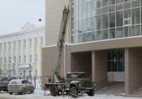 Автоподъёмник ВС-22-МС на шасси ЗиЛ-431412 #Е 018 НС 174. Курган, Советская улица