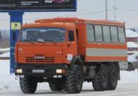 Вахтовый автобус НефАЗ-4208 на шасси КамАЗ-43114 #К 829 ЕВ 174 . Курган, улица Ленина