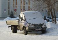 """Бортовой грузовик ГАЗ-37053C на шасси ГАЗ-3302 """"Газель"""" #О 878 КУ 45 . Курган, улица Пичугина"""