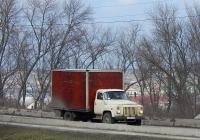 Фургон на шасси автомобиля ГАЗ-53-12 # В 208 АР 31. Белгородская область, г. Алексеевка, улица Тимирязева