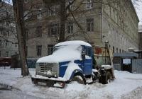 Бункеровоз ЗиЛ-ММЗ-49525 #Н 273 СО 197. Москва, Соболевский проезд