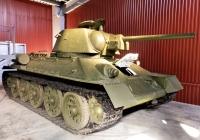 Танк Т-34-76. Свердловская область, Нижний Тагил, Музей бронетанковой техники УВЗ