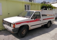 Пикап Nissan Navara D21 #ROB-2456. Греция, Родос, Кремасти