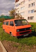 Микроавтобус Volkswagen Transporter T3 #М 779 СМ 163. Самара, улица Артемговская
