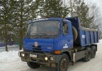 Самосвал Tatra-815*. Вологодская область, Тотемский район, деревня Погорелово