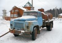 Топливозаправщик на шасси ГАЗ-53* . Вологодская область, Тотемский район, город Тотьма