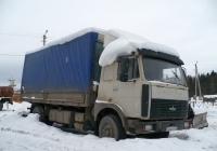 Бортовой грузовик МАЗ-5336 #Х 842 ОВ 43 . Вологодская область, Тотемский район, город Тотьма