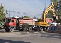 Самосвал Tatra T815S3 #B 630 ZUM и экскаватор Hyundai Robex 2000w-7. Алматы, проспект Рыскулова