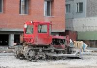 Бульдозер ДЗ-42П на базе гусеничного трактора ДТ-75 #1938 РМ 14. Якутск, улица Лермонтова