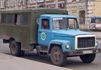 вахтовый автобус ТС-3966 на шасси ГАЗ-3307 . Самара, улица Максима Горького