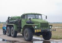 Аэродромный пусковой агрегат АПА-5ДМ на шасси Урал-4320 #6036 УМ 76. Самара, аэродром Кряж