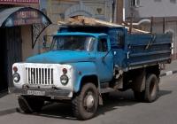 Самосвал ГАЗ-САЗ-3507 #Х 654 ХТ 52. Нижегородская область, Павлово-на-Оке, Красноармейская улица