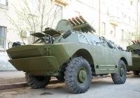 Боевая машина 9П122 на базе БРДМ-2. Самара, улица Молодогвардейская
