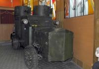 Демонстрационный макет бронеавтомобиля FIAT-Ижорский на шасси ГАЗ-51 . Самара, улица Молодогвардейская