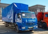 бортовой автомобиль КамАЗ-5308-А4. Самара, площадь имени В. В. Куйбышева, выставка КомАвтоТранс-2013