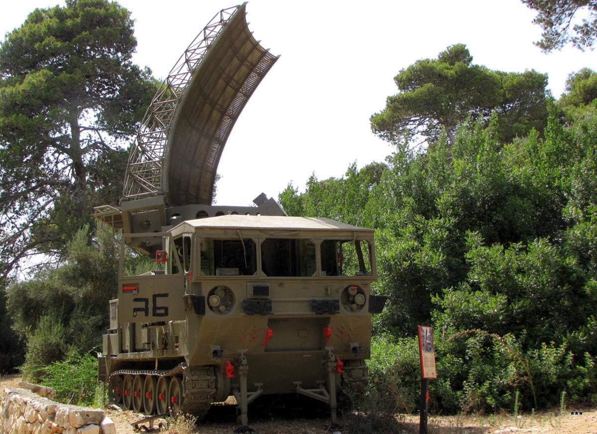 Радар Shilem. Израиль, Зихрон-Яаков, музей артилерии