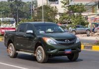 Пикап Mazda BT-50 #2-8061. Камбоджа, Сием Реап