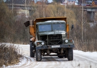Самосвал КрАЗ-256 #У 309 КМ 69. Тверская область, Кимрский район