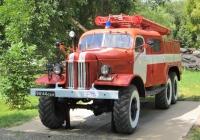 "Пожарный автомобиль АЦП-30(157)-27 на шасси ЗиЛ-157КЕ #9444 ОБВ. Оренбург, парк ""Салют, Победа"""