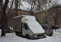 Фургон ГАЗ-3302 #К 549 ТВ 197. Москва, Большая Академическая улица
