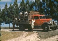 Бортовой грузовой автомобиль International C-30. США