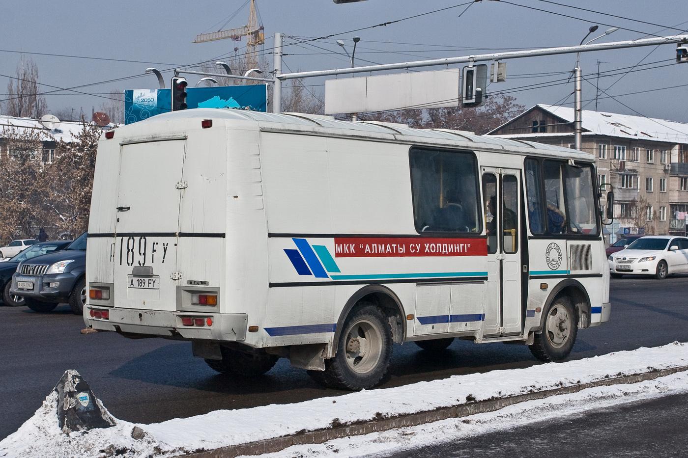 Грузопассажирский автомобиль ПАЗ-32053-110-20 #A 189 FY. Алматы, проспект Абая