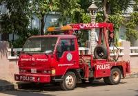 Эвакуатор на шасси Hyundai #2-1388. Камбоджа, Сием Реап