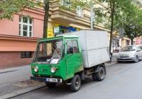Фургон Multicar M2577 #3AD 7808. Чехия, Прага