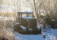 Трактор Т-74. Хмельницкая область, Красиловский район, с. Западинцы