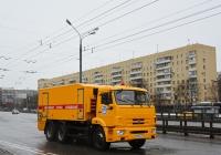 Аварийная водоканала на шасси КамАЗ-65115 #Е 075 УН 777. Москва, Ленинградское шоссе