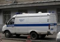 """Автозак на базе фургона ГАЗ-2705 """"Газель"""" #В 2675 72. Тюмень, Рижская улица"""