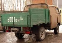 Бортовой грузовой автомобиль на базе УАЗ-452Д #О 001 ОН 72 . Тюмень, Олимпийская улица