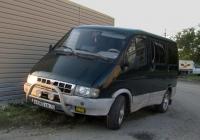 "Микроавтобус ГАЗ-2217 ""Баргузин"" #Е 680 ХВ 72. Тюмень"